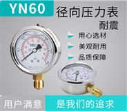 不銹鋼防震壓力表