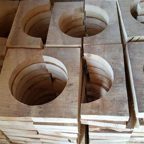 管道木托 主要用于管道垫木