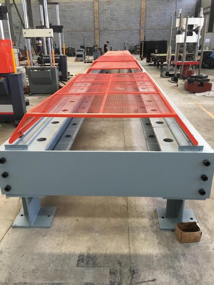 電液伺服金屬棒材臥式拉力試驗機