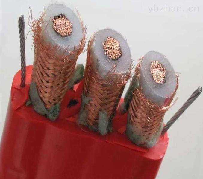 高压扁平软电缆3×35+3×16/3+6FO