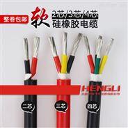 金属屏蔽12.2直流ZA-AGRP硅橡胶扁电缆