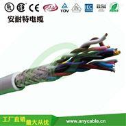 2.5平雙絞屏蔽柔性控制電纜