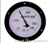 Y-150ZT弹簧管轴向带边压力表