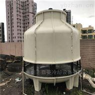 深圳福永100T空调型逆流式圆形玻璃钢冷却塔