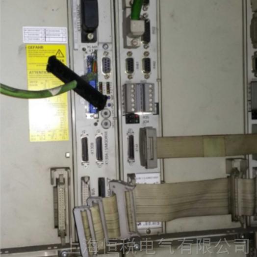 西门子系统总控制器840D床子NCU显示1
