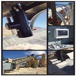 钢厂烧结料在线水分分析仪