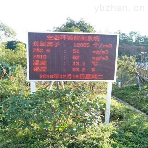BYQL-FY-廣州白云風景區負氧離子監測系統