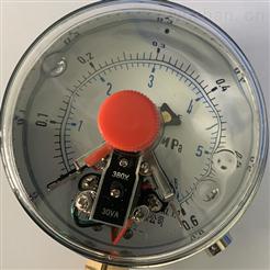 磁助式带前边电接点压力 YNXC-100ZT