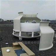 机械通风式80T高温圆形冷却塔冷水塔厂家