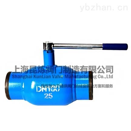 Q61F-一体式焊接球阀_法兰_螺纹_焊接球阀_-上海昆炼阀门