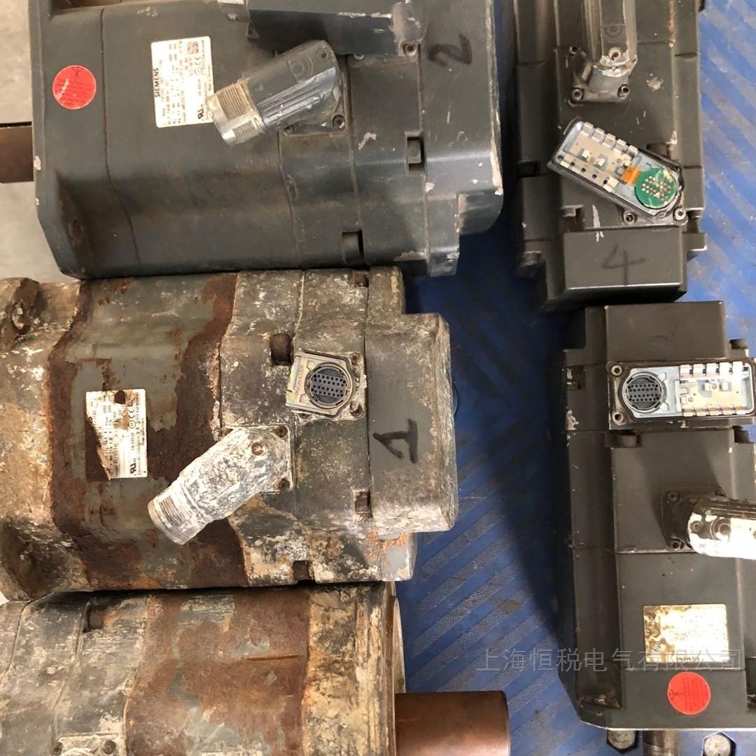 西门子伺服电机修复所有问题