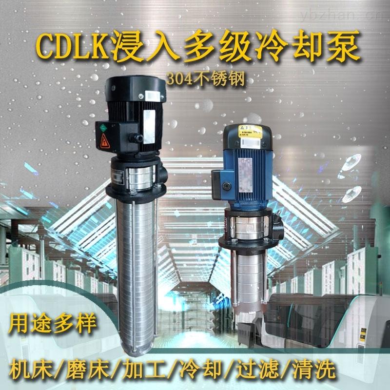 CDLK4-40/3-浸入式多级离心泵工业清洗过滤泵不锈钢