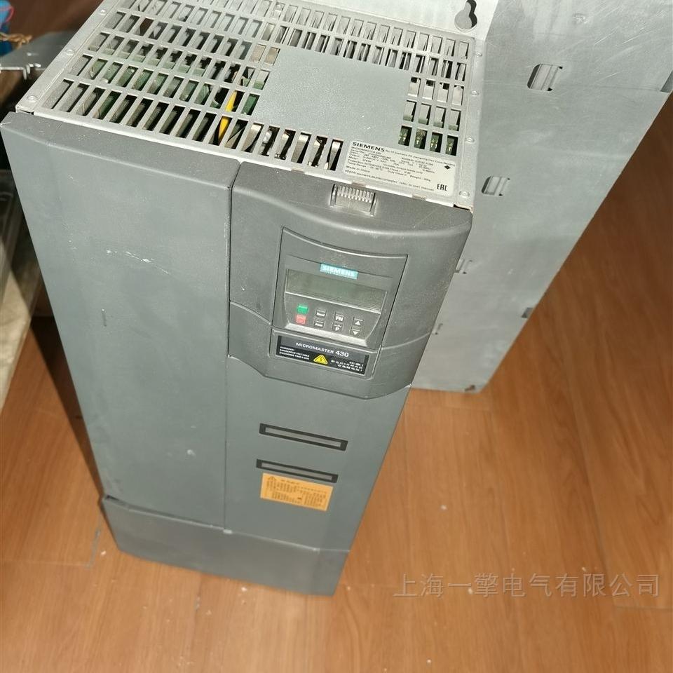 西门子G150变频器去跳闸过流维修