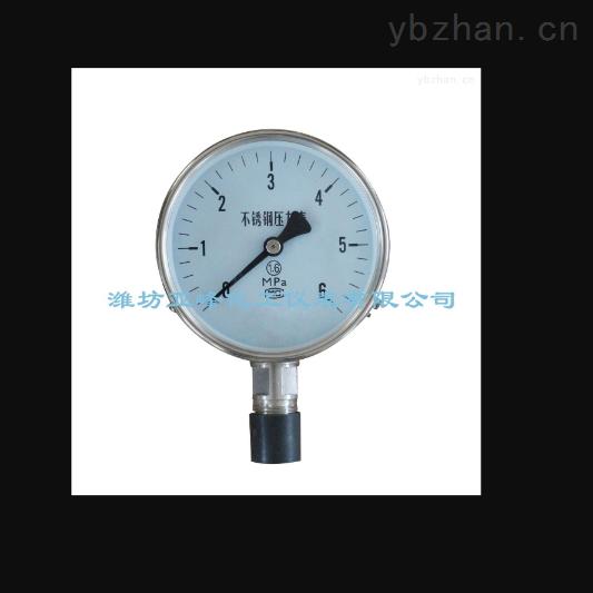 不锈钢压力表原理