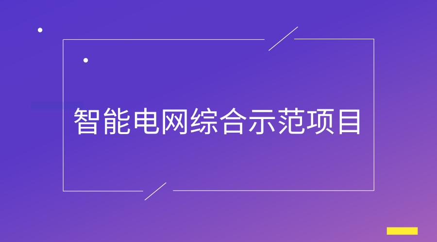 海南首批智能电网综合示范项目启动