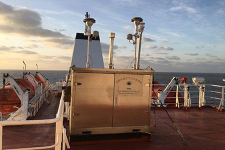 雪迪龍助力我國近海海域大氣污染物走航觀測研究