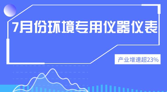 2019年7月份环境专用home一必发产业增速超23%