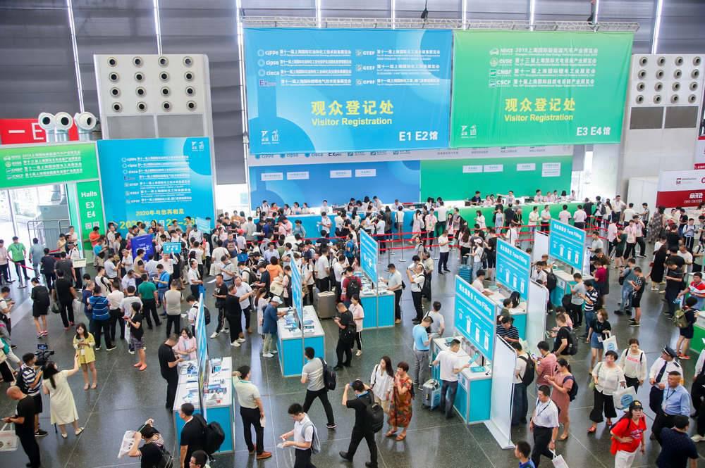 2019上海化工裝備展今日開幕,展會現場人氣高漲!