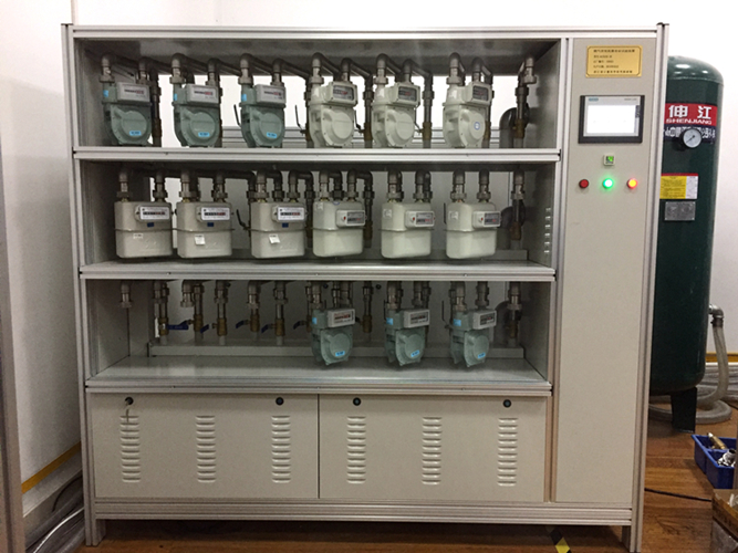 浙江計量院自主研發先進設備滿足膜式燃氣表嚴苛試驗標準