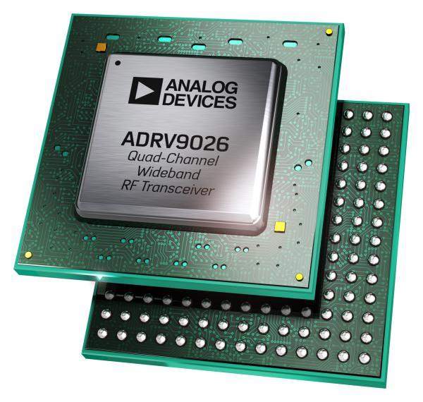 ADI公司推出寬帶RF收發器 用于支持基站應用