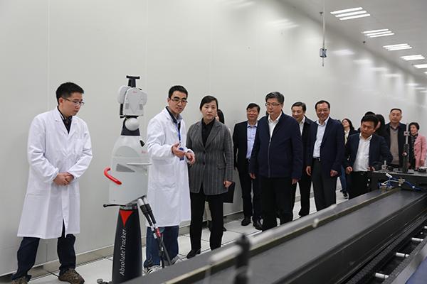 浙江省计量科学研究院精密智能测量立异团队侧记