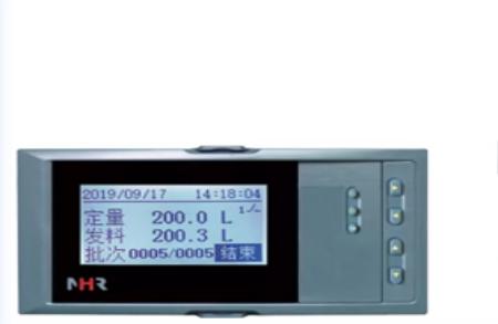 虹潤發布新品NHR-6670系列液晶定量控制積算儀