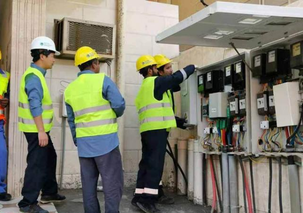 國家電網為沙特安裝的首塊智能電表上線