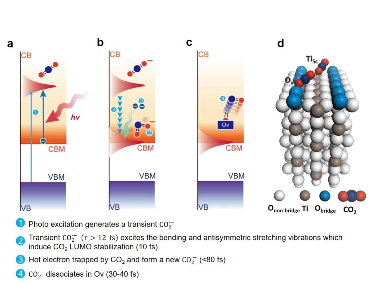 金属氧化物表面二氧化碳光致还原机理研究取得进展