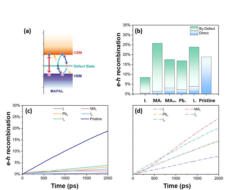 钙钛矿太阳能电池激发态载流子复合机制研究取得进展