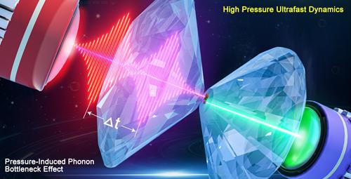 壓力誘導的聲子瓶頸效應研究獲進展