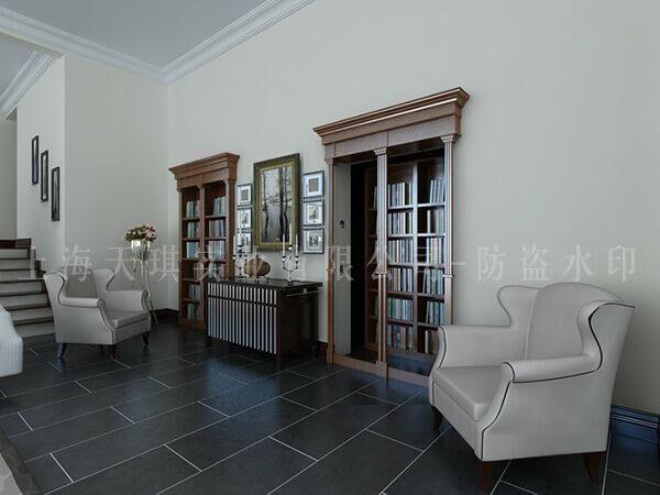 书柜密室门,别墅地下密室,地下密室设计