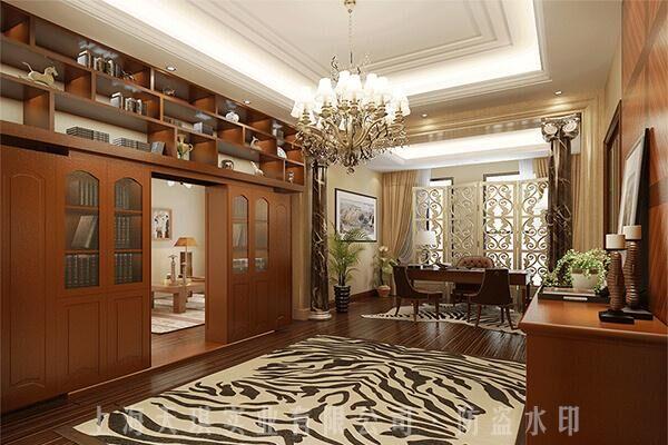 書櫃旋轉密室門,古代旋轉機關門,別墅地下密室設計