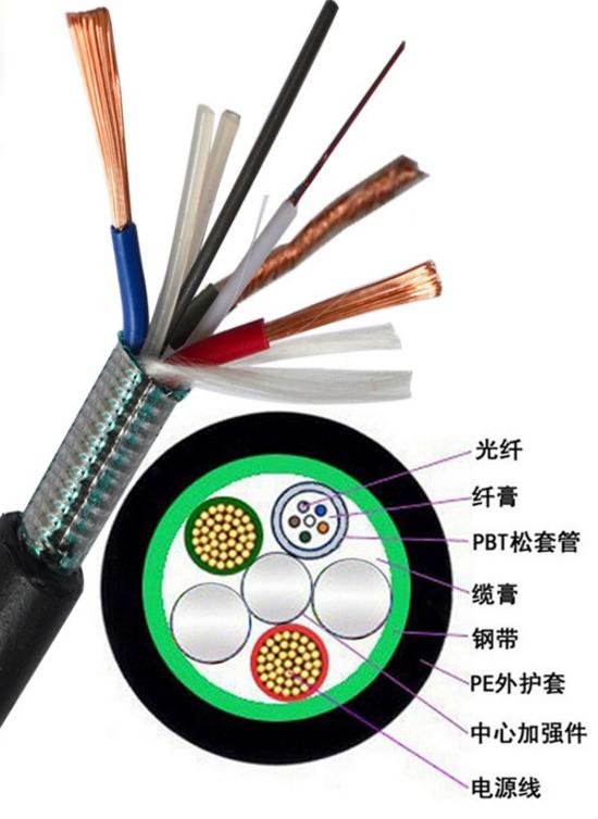 河南12芯矿用阻燃光缆MGTSV-12B1光纤电缆