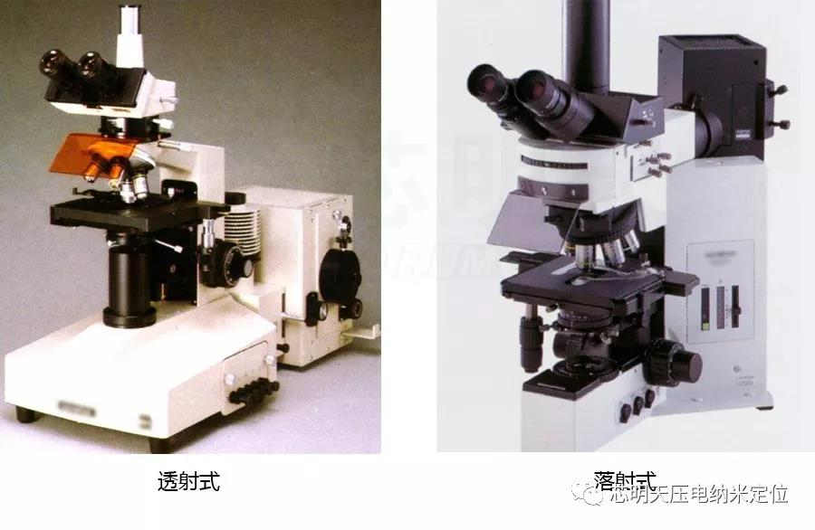透射式荧光显微镜与落射式荧光显微镜